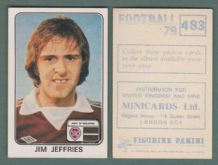 Hearts of Midlothian Jim Jeffries 483